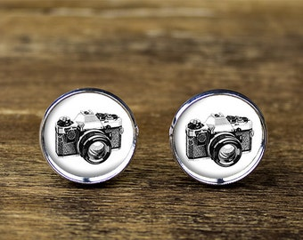 "Shop ""camera jewelry"" in Cuff Links & Tie Clips"