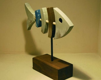 Fish in wood