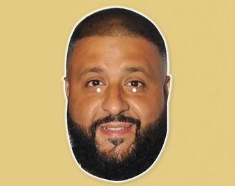 Happy DJ Khaled Mask by RapMasks