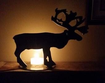 Caribou Candle Holder