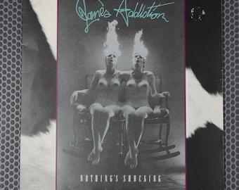 JANE'S ADDICTION Nothing's Shocking Vinyl Record 80s 90s Alternative Rock Music