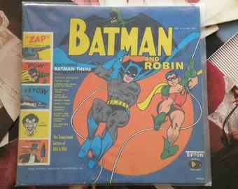 Batman and Robin Vinyl LP