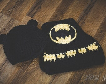 Bat Baby Mask and Cape