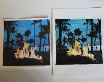Watercolor Photo Recreation- Paper