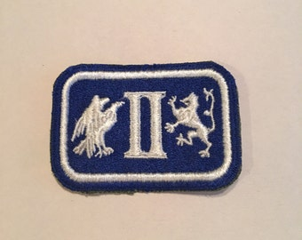 Vintage US Army Patch WWII 2nd Army Corps