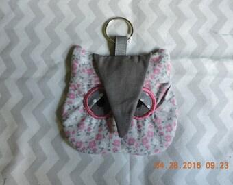 Sleepy Owl coin purse