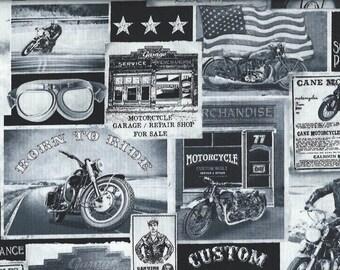 Motorcycle Era ,Timeless Treasures