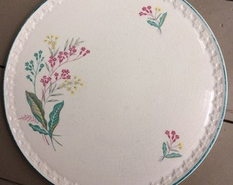 Vintage 1950s Aynsley & Co Cake Plate / Serving Plate