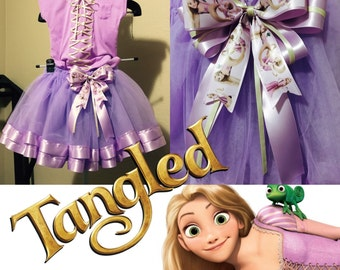 Tangled Rapunzel Outfit