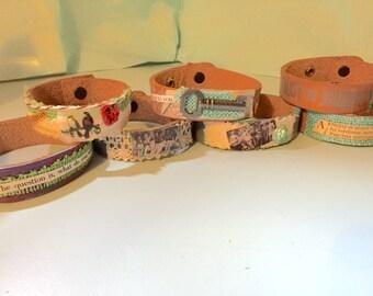 Enjoy the Journey Bracelet- Skinny Cuff Series
