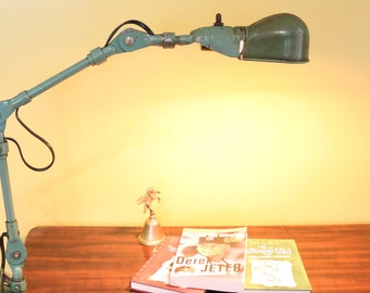 Fostoria Machinist or Task Lamp Circa 1940s