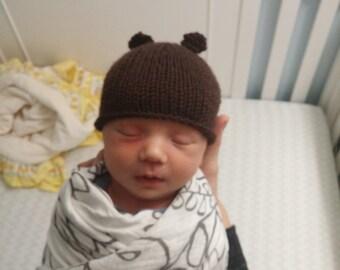 Animal Hats: Bear Hat, Raccoon, or Koala Hat