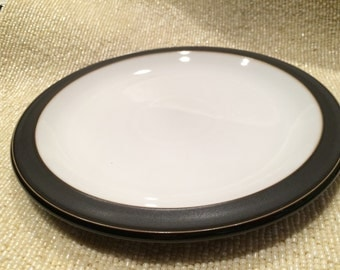 """DENBY of England JET 9"""" Salad/ Dessert Plate"""