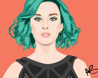 Katy Perry Portrait