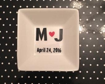 Personalized Jewelry Tray/Dish