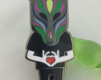 "Slow Magic ""Magic Heart"" Hat Pin"