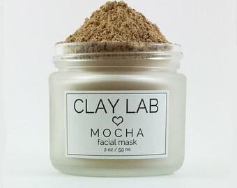 MOCHA Clay Facial Mask