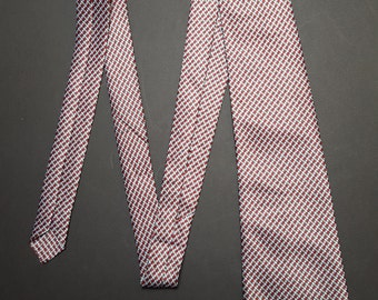 Vintage 1990s Sette & Bello handmade Silk Tie