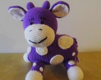 Joséphine the crochet cow, Crochet Cow, Amigurumi Cow, Stuffed Cow