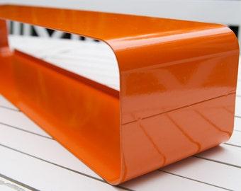 -Retro - metal shelf in orange < 3