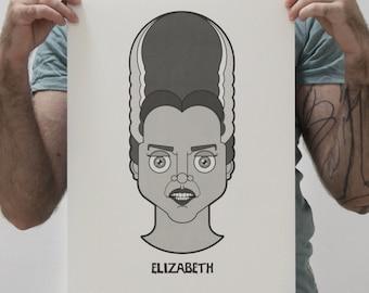 Art Print - Elizabeth - Young Frankenstein
