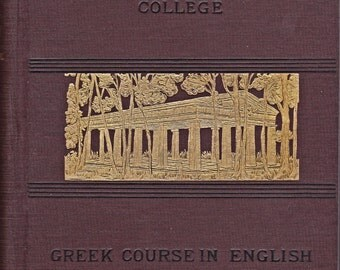 College Greek Course in English from 1888
