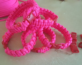 Cancer awareness bracelet.