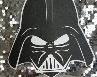 Darth Vader Cake topper - Star Wars cake Toppers - star wars Toppers - Cake Toppers - star wars party - star wars cake