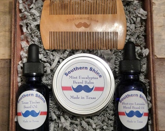 beard care kit etsy. Black Bedroom Furniture Sets. Home Design Ideas