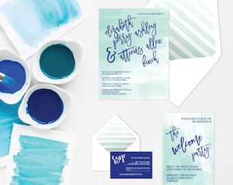 The Libby Suite - Printable Wedding Invitation Set