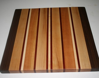 Straight But Not So Narrow Cutting Board