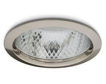 4 x jcc lighting coral downlight rim jc5055 brushed nickel aluminium light rim
