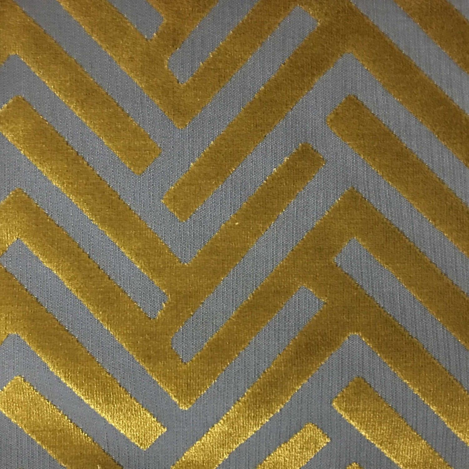 Upholstery Fabric Ministry Curry Cut Velvet Home Decor
