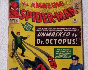 3rd Doc Ock!  Amazing Spider-Man #12 (1964)
