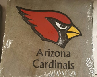 Cardinals 12 by 12 stone carving