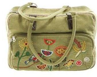 """Canvas bag """"wild garden"""""""