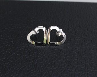 Handmade Hearts Sterling Silver .925