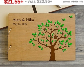 SALE! Personalized Wedding Guest Book Tree, Guest book Wedding, Rustic Custom Guest Book, Guest Book, Wood Wedding Gest book, Bridal Shower