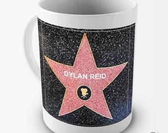 Personalised Hollywood Star Movie Ceramic Novelty Gift Mug
