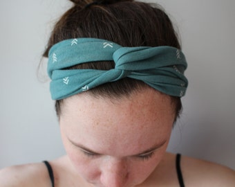 Womens Turban Headband, Available in many different colors/patterns