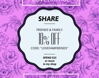 Below Coupon Code: Family & Friends SALE!