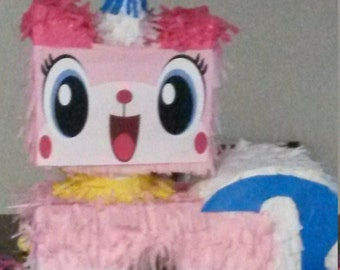 Lego Brick Unikitty Piñata. Handmade. New