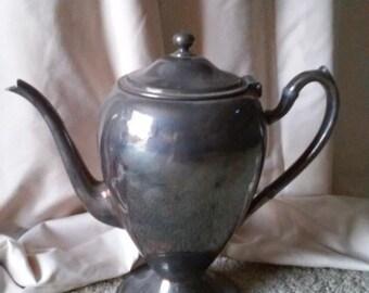 Vintage Gotham Silver on Copper Teapot #515