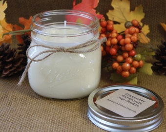 Cranberry Marmalade Soy Candle 16 oz.