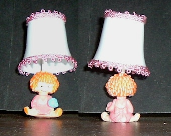 MINIATURE CHILDRENS LAMP