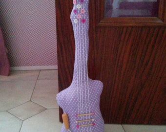 Musical fabric DoorStop