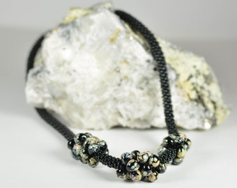 Hand Crafted Glass Beaded Necklace