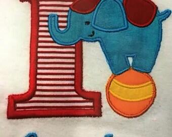 Circus Elephant Onesie/Shirt