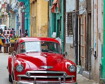 Havana Red Car