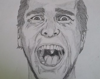 American Psycho Drawing